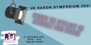 New Event: UK Radon Symposium 2021