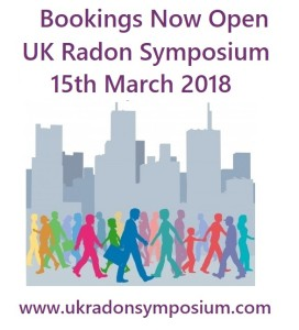Book Now for the UK Radon Symposium 2018