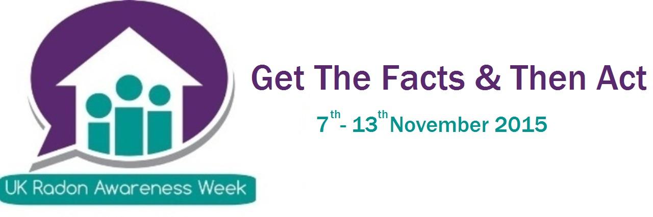 UK Radon Awareness Week 2015